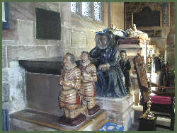 The tomb of Sir Edward Fitton