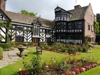 Gawsworth Hall and garden