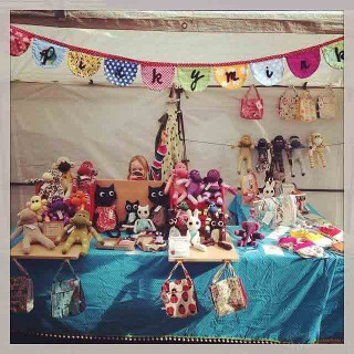 Stall at Macclesfeild Treacle Market