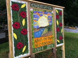 Crosspool Well Dressing Board 2014