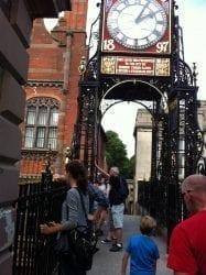 Eastgate Clock Chester Walls